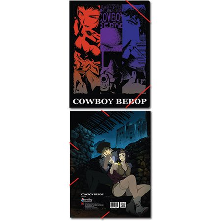 File Folder - Cowboy Bebop - New Group Elastic Band Document Anime ge26093 - image 1 of 1