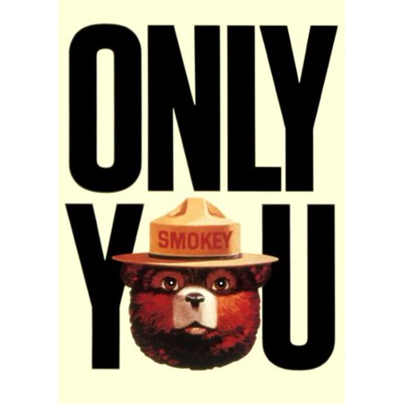 Smokey Bear Poster (Smokey Bear Poster Only You Can Prevent Forest Fires 11x17 Mini Poster)