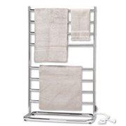 Warmrails WHC Warmrails WHC Chrome Hyde Park Portable Bath Towel Warmer