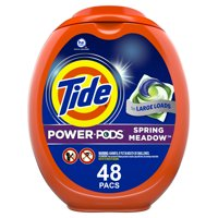 Tide Power Pods Spring Meadow, 48 Ct Laundry Detergent Pacs