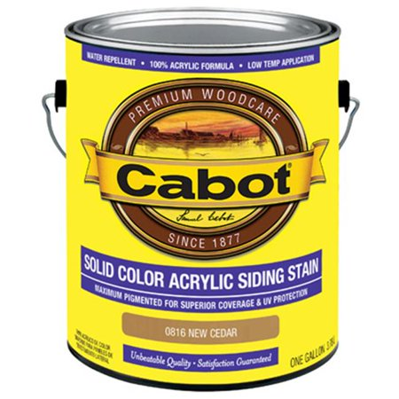 Cabot Samuel 0816-07 Gallon Cedar Siding Stain - Pack of