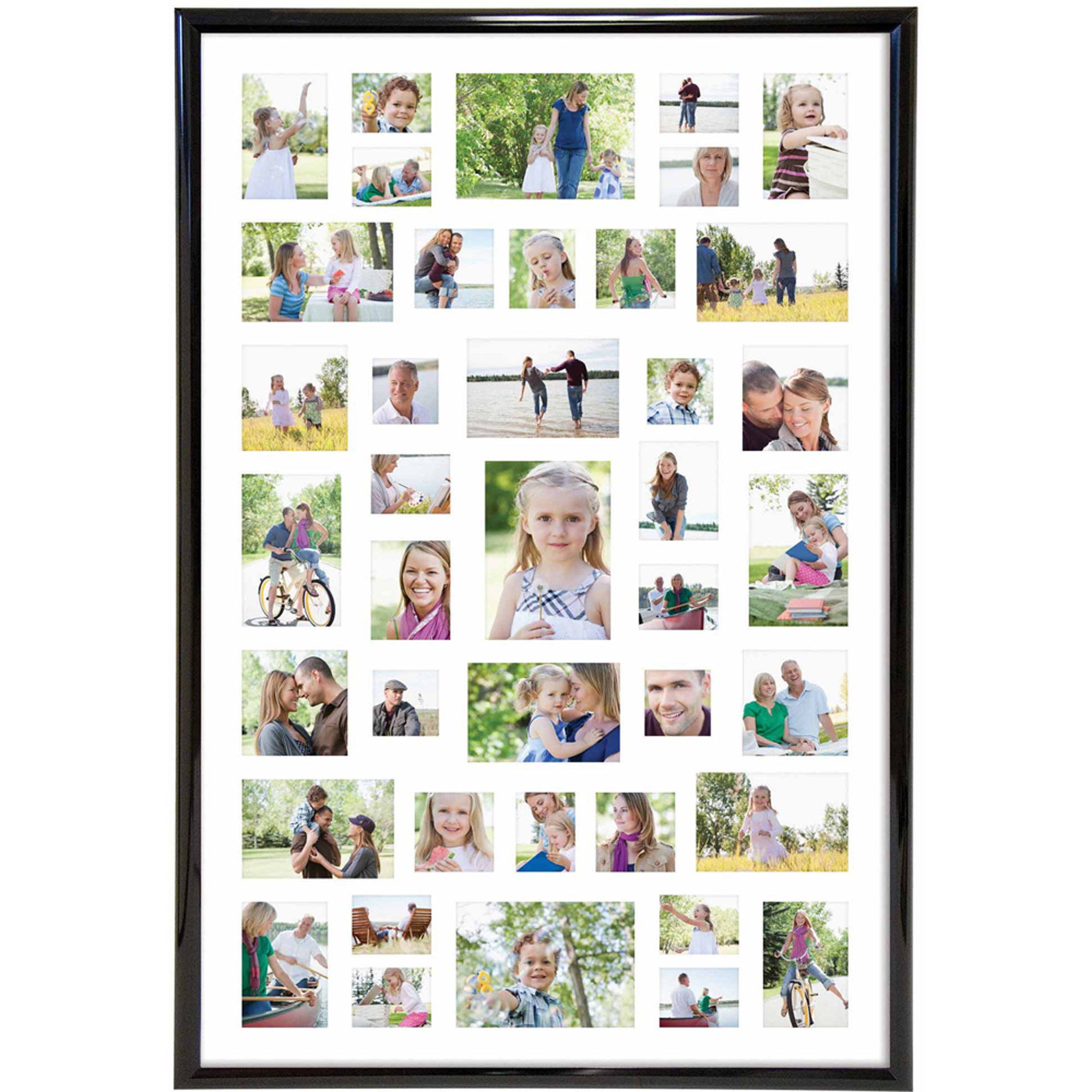 27'' x 40'' Collage Poster Frame Family Wall Mount Picture ...