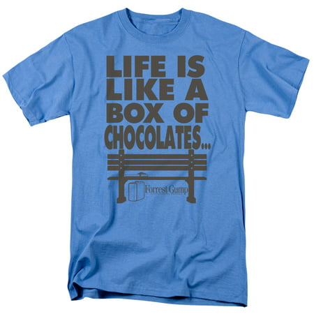 Forrest Gump Romance Comedy Drama Movie Box of Chocolates Adult T-Shirt Tee