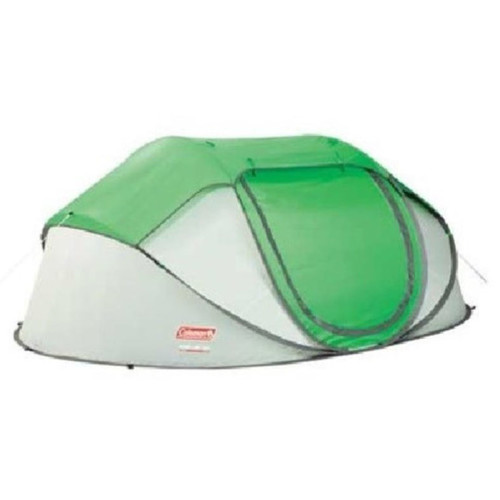Coleman Popup 4 Tent 4 Person(s) Capacity Polyester Taffeta, Fiberglass by COLEMAN
