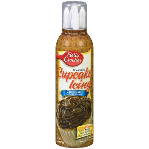 Betty Crocker Chocolate Decorating Cupcake Icing, 9.1 oz