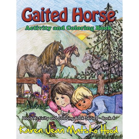 Gaited Horse: Activity and Coloring Book - eBook