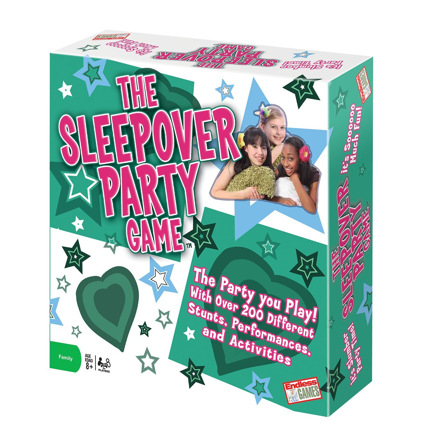The Sleepover Party Game, Over 200 different stunts, performances, and activities By Endless Games by