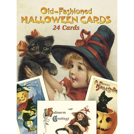 Dover Postcards: Old-Fashioned Halloween Cards: 24 Cards (Paperback)