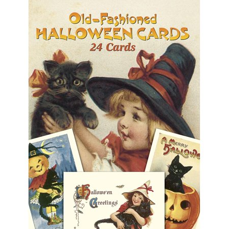 Dover Postcards: Old-Fashioned Halloween Cards: 24 Cards (Paperback) - 3d Halloween Card