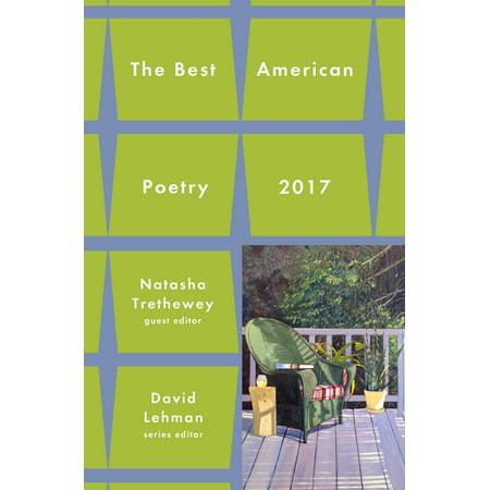 Best American Poetry 2017 (Best Sterling Of The American Poetries)