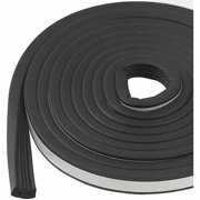 """M-D Products 01033 Black Marine and Automotive EPDM Weatherstripping, 19/32"""" x 10'"""