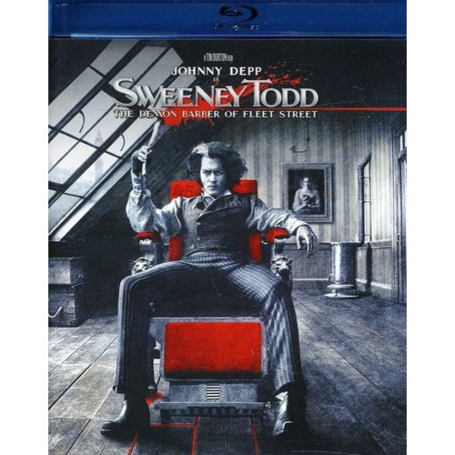 Sweeney Todd: The Demon Barber Of Fleet Street (2007/ Blu-ray)