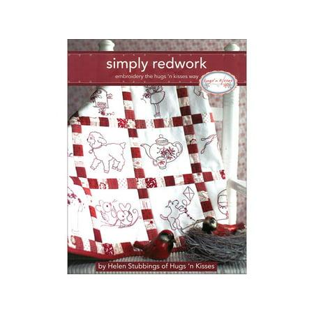 Landauer Simply Redwork Bk
