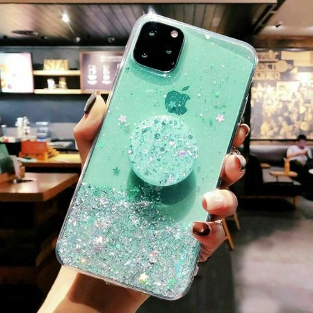 Bling Glitter Case For iPhone 11 Pro Max 11 Pro 11 XS XR X XS Max 6s 6 7 8  PlusSlim Case With Stand Holder Phone Cases Socket Brand Name: IMIDOType: Fitted CaseCompatible Brand: Apple iPhonesCompatible iPhone Model: iPhone 6Compatible iPhone Model: iPhone 6 PlusCompatible iPhone Model: IPHONE 6SCompatible iPhone Model: iPhone 6s plusCompatible iPhone Model: iPhone 7Compatible iPhone Model: iPhone 7 PlusCompatible iPhone Model: IPHONE 8 PLUSCompatible iPhone Model: IPHONE 8Compatible iPhone Model: IPHONE XCompatible iPhone Model: IPHONE XS MAXCompatible iPhone Model: IPHONE XRCompatible iPhone Model: iphone xsCompatible iPhone Model: iPhone11Compatible iPhone Model: iPhone 11 Pro MAXCompatible iPhone Model: iphone 11 proDesign: TransparentDesign: GlitterFunction: Dirt-resistantFunction: Anti-knockFunction: Kickstand