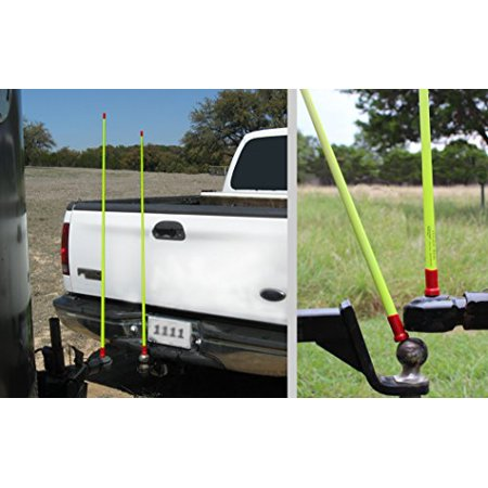 Heavy Duty Hitchin Rod w/ 2 Magnetic Rods Hookup Guide for Gooseneck Trailers