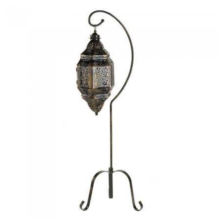 Gallery Of Light Moroccan Candle Lantern Stand ()