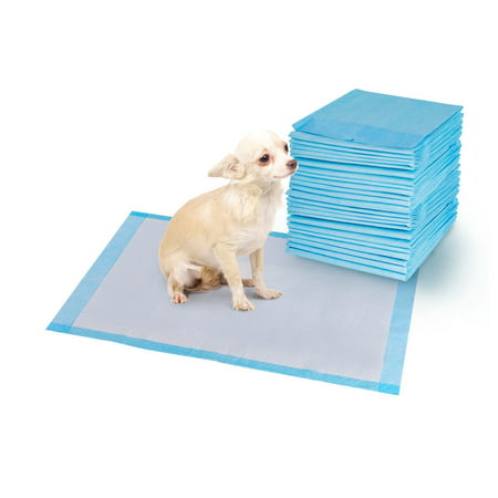 Costway 200 PCS 24'' x 24'' Puppy Pet Pads Dog Cat Wee Pee Piddle Pad training (Best Pee Wee Football Defense)
