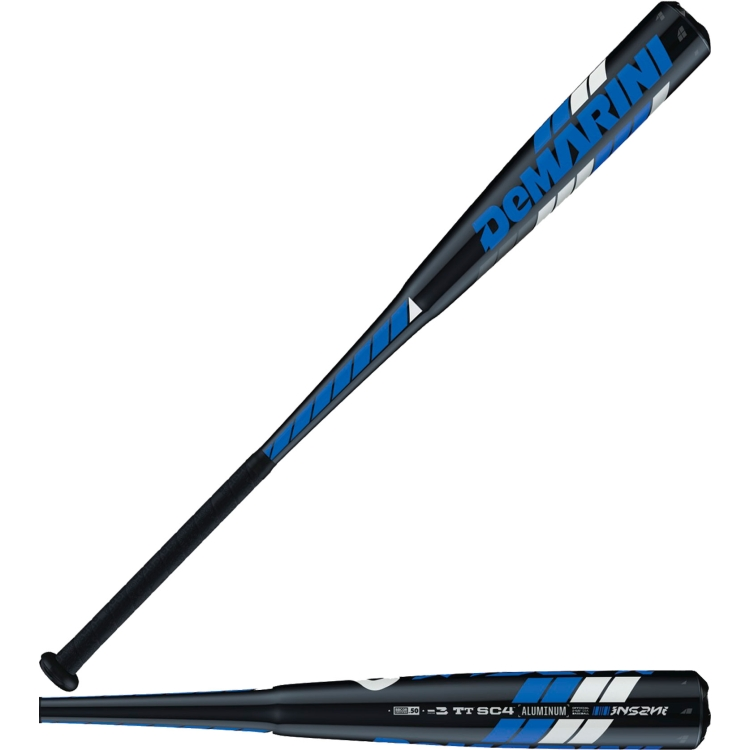 "DeMarini 33""/30 oz. Insane BBCOR Bat 2016 (-3)"