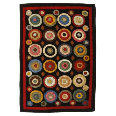 Homespice Decor Coin Penny Indoor Area Rug