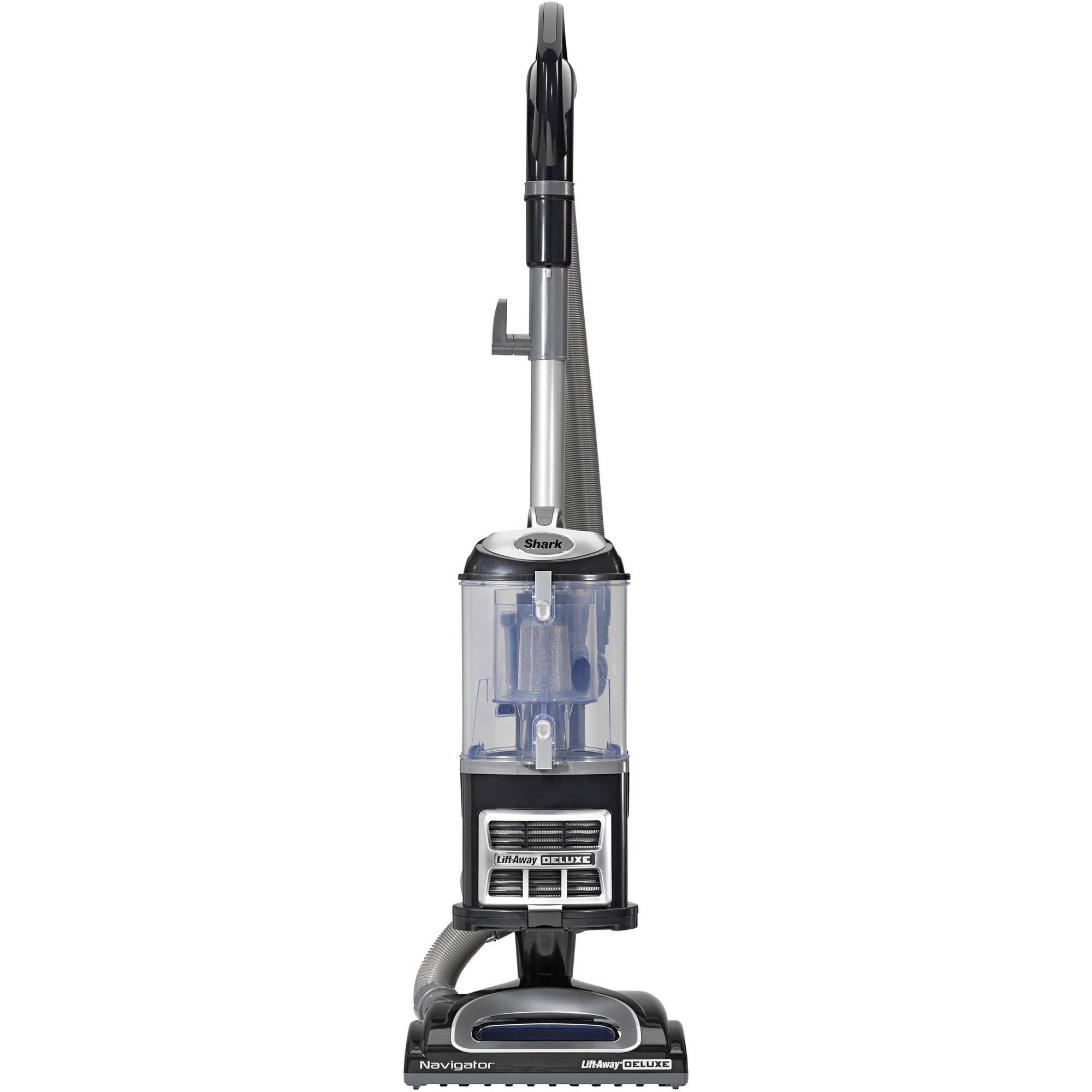 Shark navigator vacuum cleaner big w - Shark Navigator Lift Away Deluxe Upright Vacuum With Appliance Wand Black Nv361bk Walmart Com