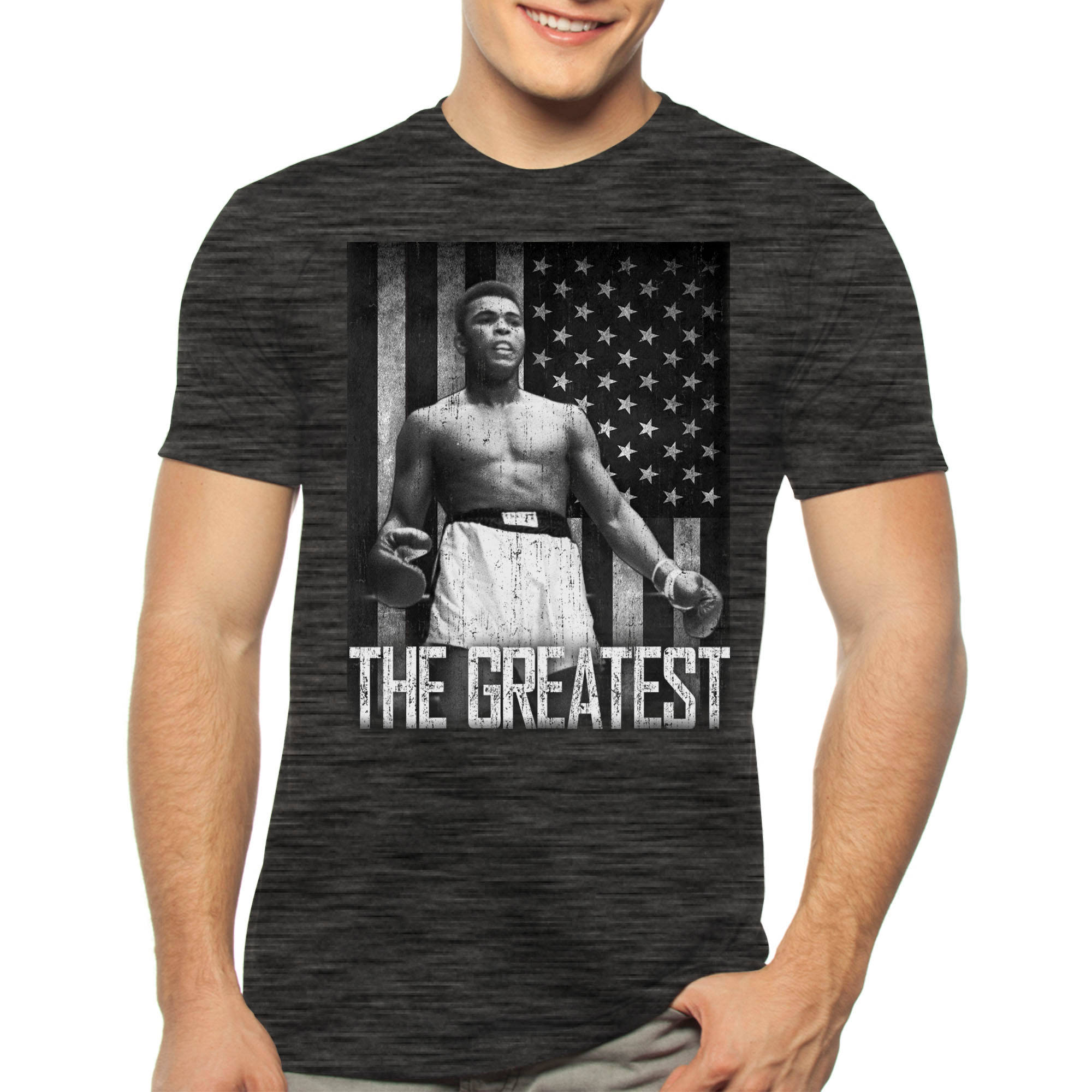 Muhammad Ali Men's The Greatest Graphic Tee