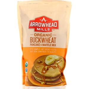 Arrowhead Mills Sprouted Pancake - Arrowhead Mills, Organic Buckwheat Pancake and Waffle Mix, 26 oz (pack of 1)