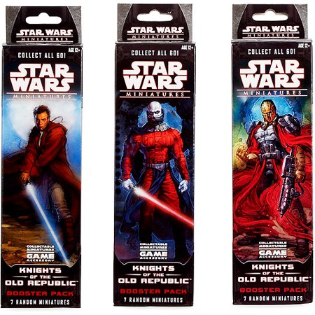 Star Wars Collectible Miniatures Game Knights of the Old Republic Booster Pack