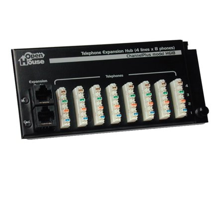 Open House Termination Hub (Open House H618 4 X 8 Telephone Expansion Hub )
