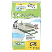 Tidy Cats Breeze Refill Pads Spring Clean Scent 10pk (1-Pack), Purina Tidy Cats Breeze Spring Clean Refill Cat Pads 10ct By Tidy Cats