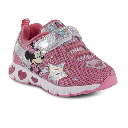 Toddler Girls' Minnie Mouse Light-Up Sneaker Shoes](Minnie Mouse Toddler Shoes)
