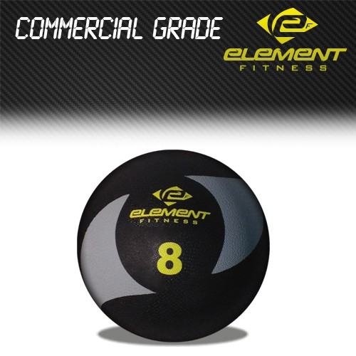Element Fitness Commercial Medicine Ball-Weight:8lbs