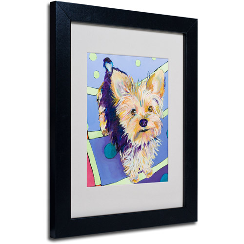 Trademark Art 'Claire' Framed Matted Art by Pat Saunders-White