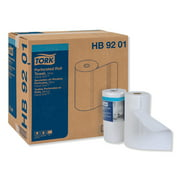 Tork Handi-Size Perforated Roll Towel, 2-Ply, 11 x 6.75, White, 120/Roll, 30/CT -TRKHB9201