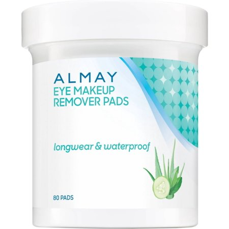 Almay Eye Makeup Remover Pads, Longwear & Waterproof 80 ea Almay Waterproof Makeup Remover