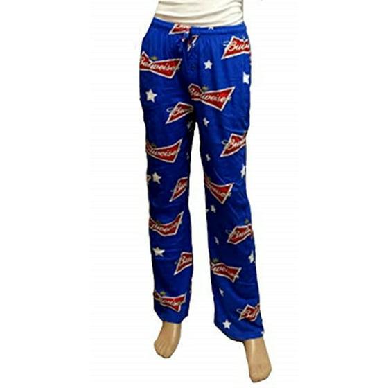 ea3dbc06464 PanTeez - Budweiser and Bud Light Men's Lounge Pants Pajama Bottoms ...