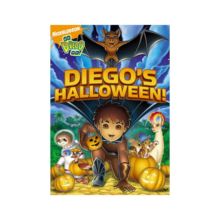 Go Diego Go: Diego's Halloween (DVD) (Halloween Parties In Hollywood 2017)