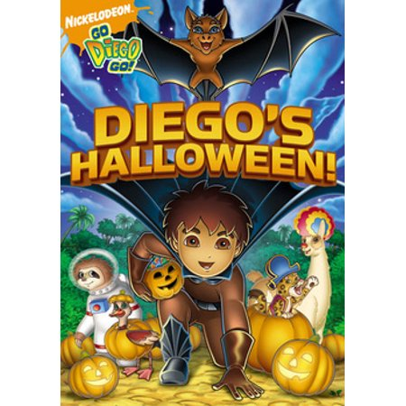 Go Diego Go: Diego's Halloween (DVD) - The Movie Halloween Cast