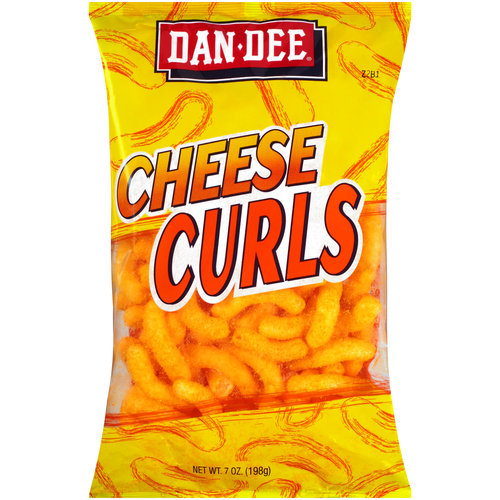 Dan Dee Cheese Curls, 7 oz