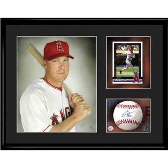 Toon Art TNA-12875 Anaheim Angels MLB Darin Erstad- Limited Edition Toon Collectible With Facsimile Signature.