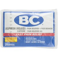 BC Original Formula Pain Relief Powders 6 ea