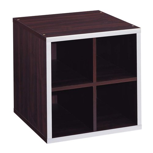 Organize It All Quadrant 15'' Cube Unit Bookcase