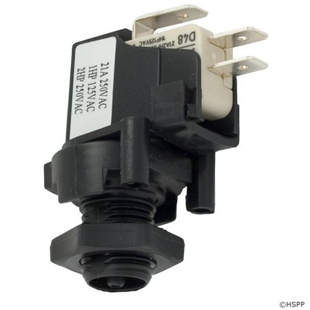(Herga 6871-AEO-U126 SPDT 20A Threaded latch Air Switch)