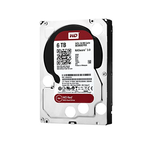 "Wd Red Wd60efrx 6 Tb 3.5"" Internal Hard Drive - Sata - 5400 Rpm - 64 Mb Buffer (wd60efrx)"