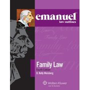 Emanuel Law Outlines: Emanuel Law Outlines for Family Law (Paperback)