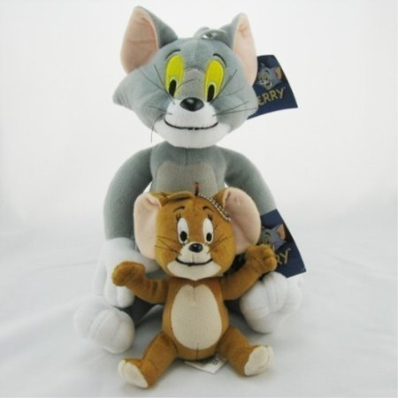 Tom and Jerry Soft Stuffed Plush Toy Doll Kids Gift
