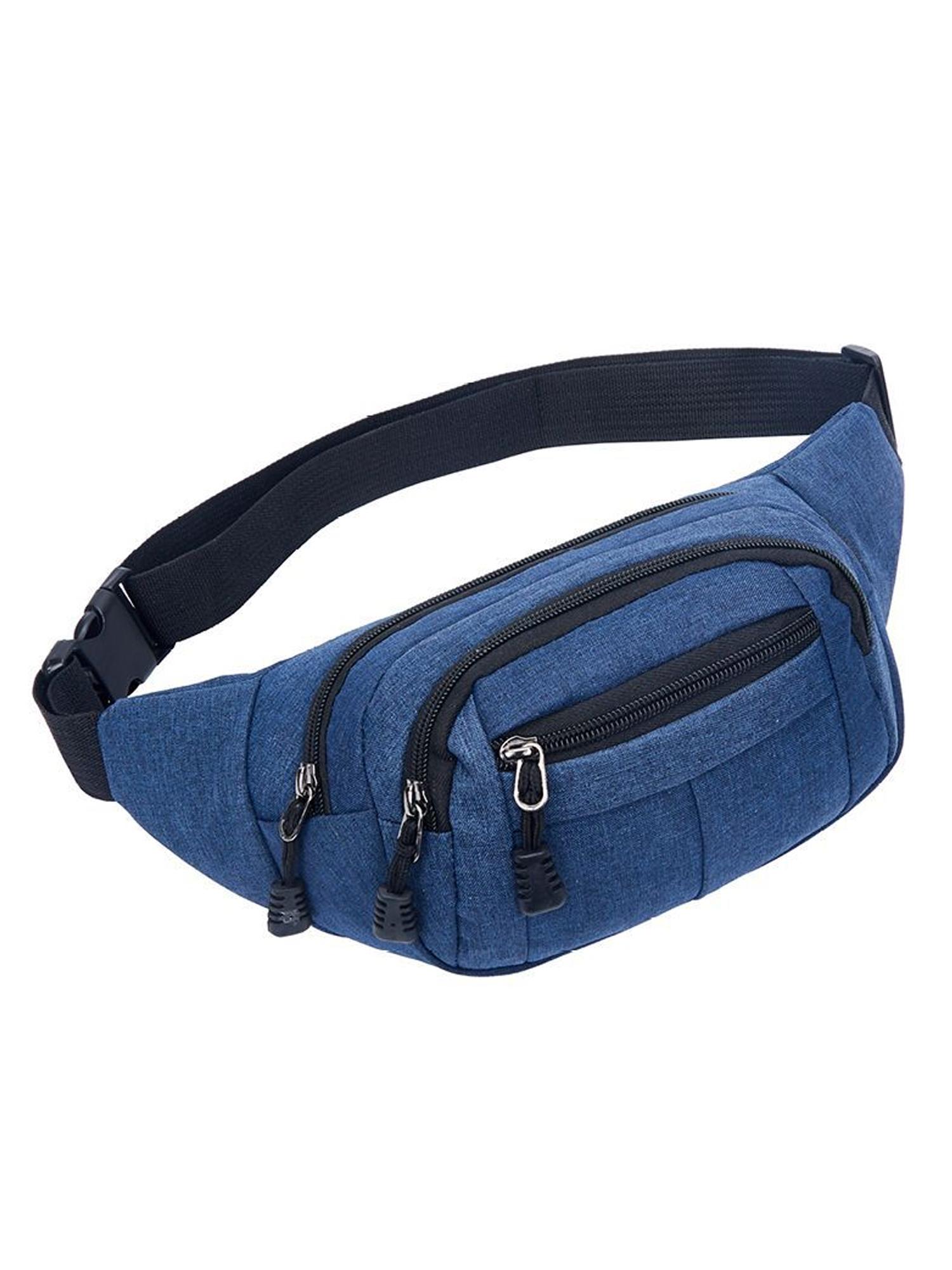 Outdoor Sport Bum Bag Fanny Pack Travel Hiking Waist Money Belt Zip Pouch  New