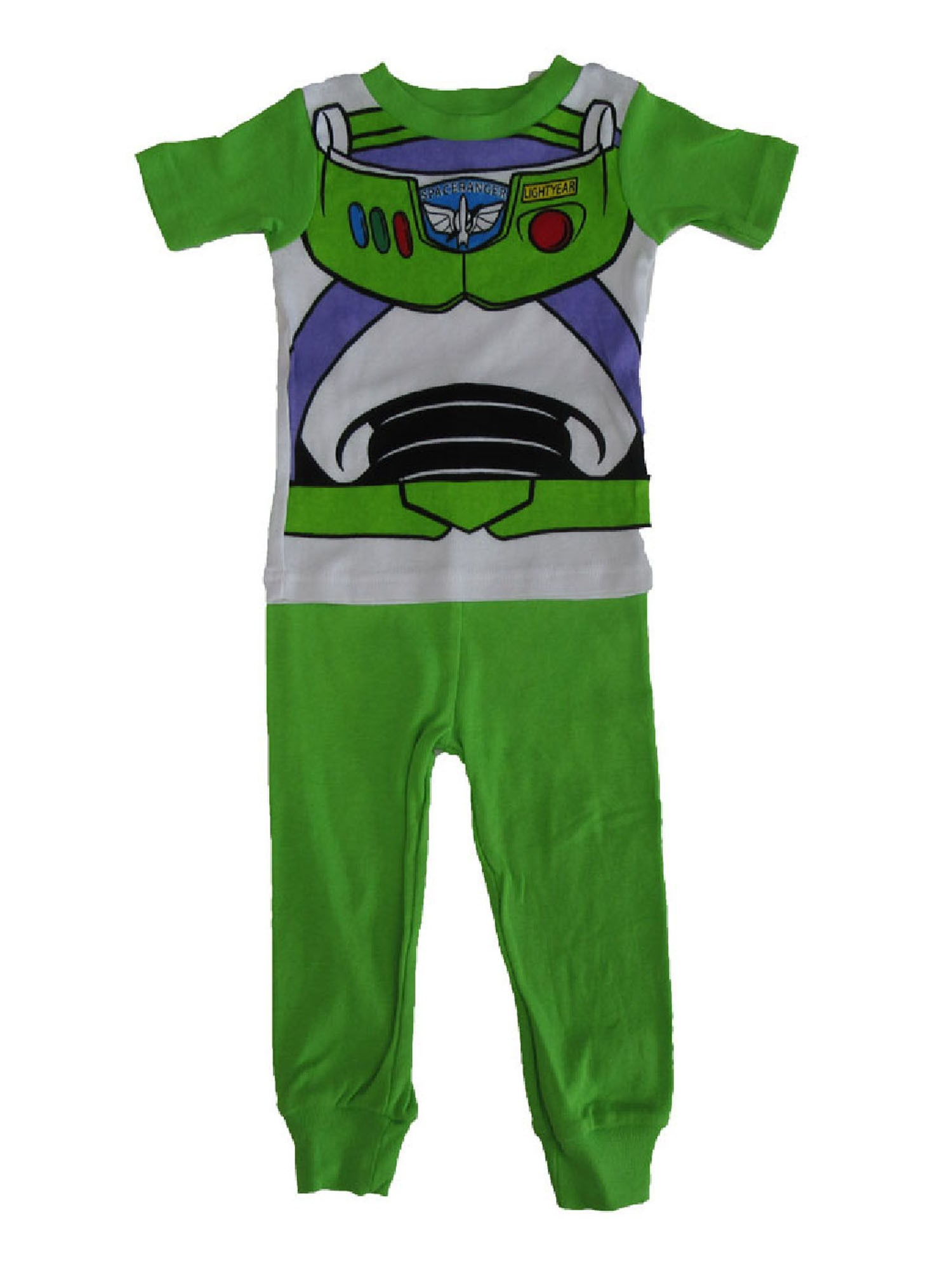 Disney Disney Little Boys Green Toy Story Buzz Lightyear