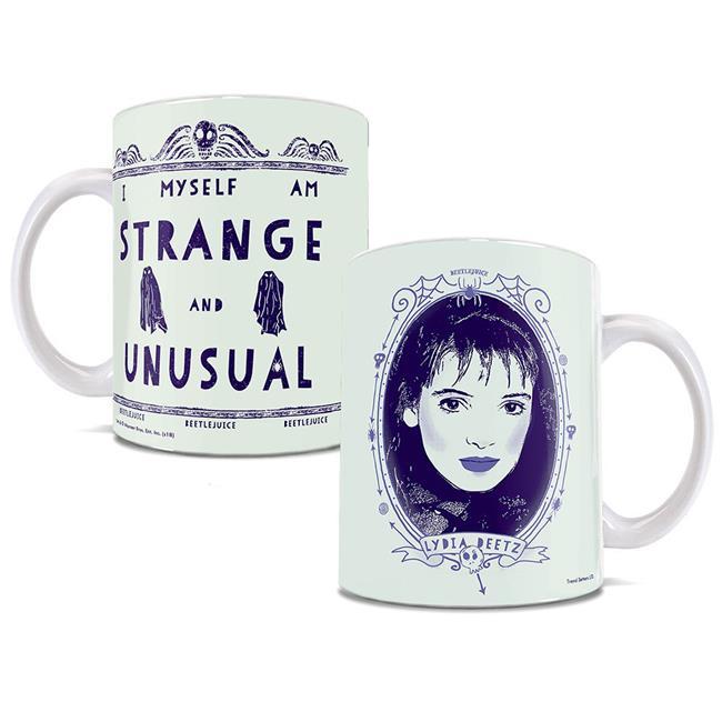 Trend Setters WMUG780 Beetlejuice Strange and Unusual Ceramic Mug - image 1 of 1