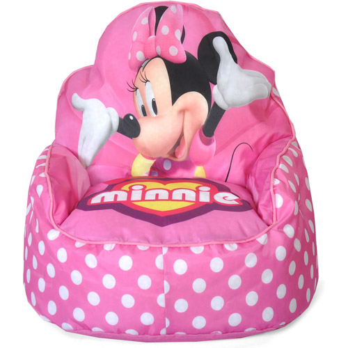 Disney Minnie Mouse, Toddler Child Sofa Bean Bag Chair