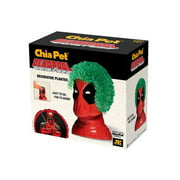 Chia Pet Deadpool from Marvel Comics Decorative Pottery Planter, Easy to Do and Fun to Grow, Novelty Gift As Seen on TV, Contains Three Packets for Planting